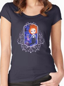 A Mermaid Kind of Day Women's Fitted Scoop T-Shirt
