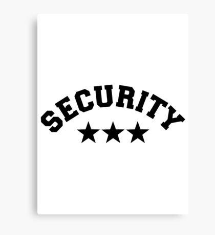 Security Canvas Print