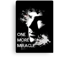 Sherlock - One More Miracle Canvas Print