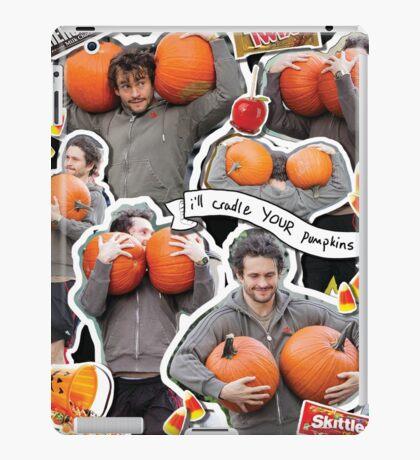 Hugh Dancy Halloween collage! iPad Case/Skin