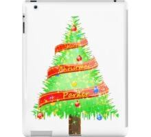Merry Christmas Parker iPad Case/Skin