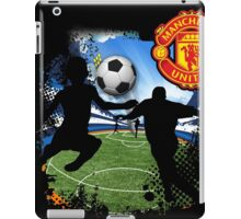 soccer Man-Uni Black iPad Case/Skin