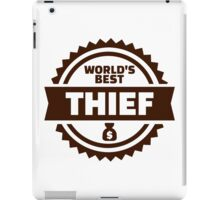 World's best thief iPad Case/Skin