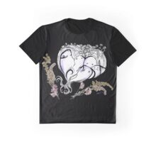 Fix Sid Sketch / Ghosts and Flowers Graphic T-Shirt