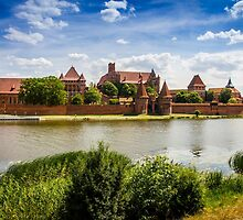 Malbork Castle by PatiDesigns