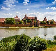Malbork Castle by PatiDesigns