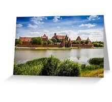 Malbork Castle Greeting Card