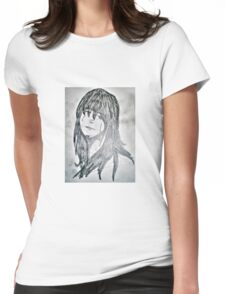 Travel sketch - Woman Womens Fitted T-Shirt