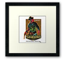 Sinestro Framed Print