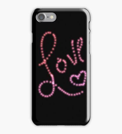 Neon Love iPhone Case/Skin