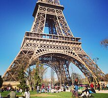 Eiffel the beauty by Jeanethomas