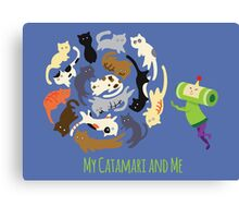 My Catamari and Me Canvas Print