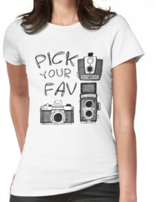 pick your fav Womens Fitted T-Shirt