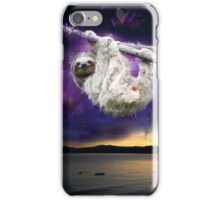 Sloth universe  iPhone Case/Skin