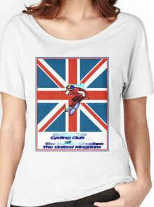 CYCLING CLUB; of The United Kingdom Print Women's Relaxed Fit T-Shirt