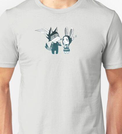 Ninja Crossing Unisex T-Shirt