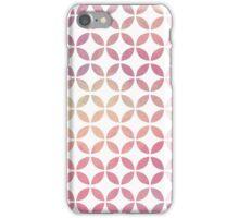 Symmetry Circles - Pink & Yellow iPhone Case/Skin