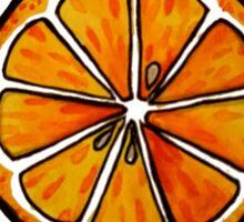 Orange Slice  Sticker