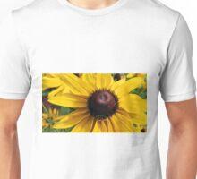 Black Eyed Susan and Caterpillar Unisex T-Shirt