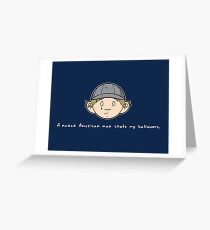 See You Next Wednesday Greeting Card