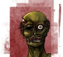 its a one eyed zombie by JAKd
