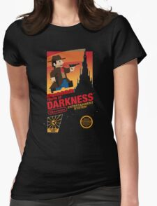 Tower of Darkness Womens Fitted T-Shirt