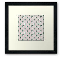 Prickly Pattern Framed Print