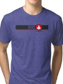 Robotech Macross VF-1 Valkyrie U.N. Spacy Tri-blend T-Shirt