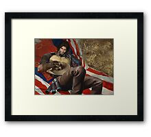 Guess it's all me now Framed Print