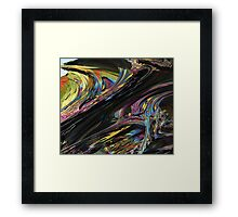 In The Mix Framed Print