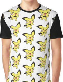 Pokemon - pichu Graphic T-Shirt