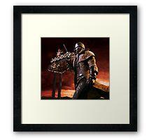 Fallout New Vegas NCR Ranger Framed Print