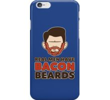 Bacon Beard (men's version) iPhone Case/Skin