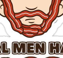 Bacon Beard (men's version) Sticker