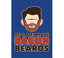Bacon Beard (men's version) Photographic Print