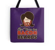Bacon Beard (women's version) Tote Bag