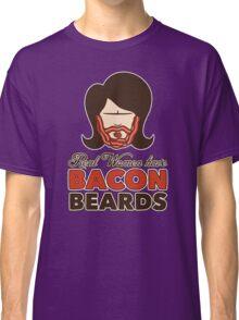 Bacon Beard (women's version) Classic T-Shirt