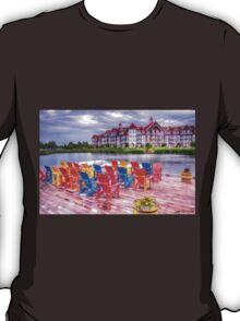 The dock at Blue Mountain T-Shirt
