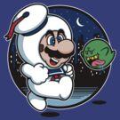 Super Marshmallow Bros. by mikehandyart