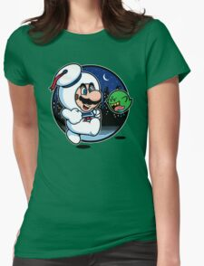 Super Marshmallow Bros. Womens Fitted T-Shirt