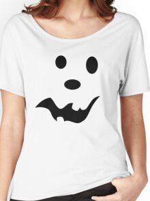 Scared Jack O'Lantern Face Women's Relaxed Fit T-Shirt