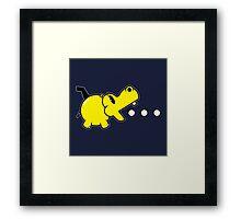 Waka Waka Hippos Framed Print