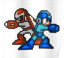 Megaman And Protoman Poster
