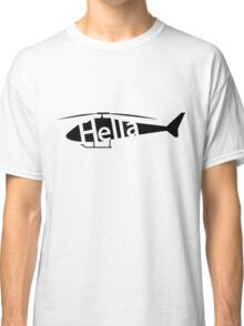 Hellacopter Helicopter Classic T-Shirt