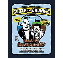 Sloth and Chunk's Ice Cream Photographic Print