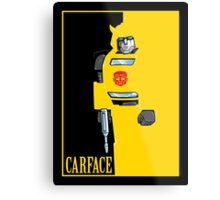 Carface Metal Print