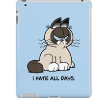 Always Grumpy iPad Case/Skin
