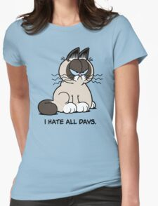 Always Grumpy Womens Fitted T-Shirt