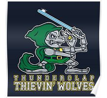 Thunderclap Thievin' Wolves Poster