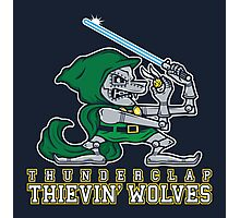 Thunderclap Thievin' Wolves Photographic Print
